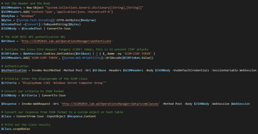 REST-API-Class