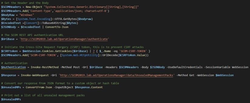 REST-API-UnsealedMPs